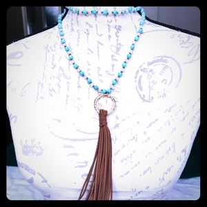 Jewelry - HANDMADE, Hand-knotted GENUINE STONE Necklace!